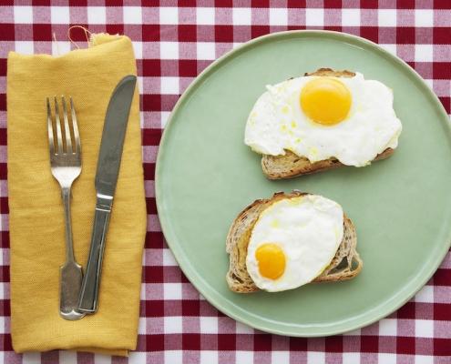 Free range small eggs