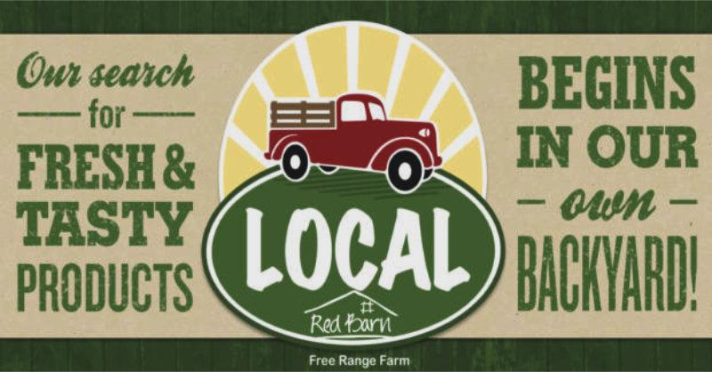 Red Barn local free range food